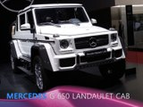 Mercedes-Maybach G 650 Landaulet Cabriolet en direct du Salon de Genève 2017