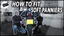 How to fit soft panniers   Motorbike Maintenance