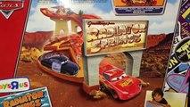 Cars Race-Off Ridge Pista Conjunto De Carreras Rip Clutchgoneski Radiador Springs, Los Coches Clásicos De Neón