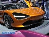 McLaren 720s en direct du Salon de Genève 2017