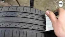Ces faux pneus neufs sont une belle arnaque et peuvent vous coûter la vie, voici comment s'en protéger