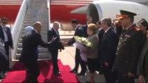 Başbakan Binali Yıldırım Kıbrıs'ta Resmi Törenle Karşılandı
