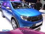 Dacia Logan MCV Stepway en direct du Salon de Genève 2017