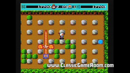 Classic Game Room - BOMBERMAN review for PC-Engine
