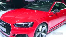 Audi RS 5: haro sur la 911 - Vidéo en direct du salon de Genève 2017
