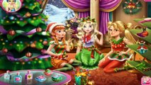 Free Baby Games - Disney Christmas Party - Frozen Elsa Anna Rapunzel Christmas Party