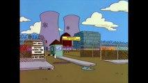 Les Simpson - Mr Burns au téléphone
