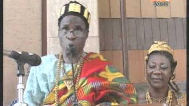 Temps forts du demarrage de la route des rois et des reines de Côte d'Ivoire