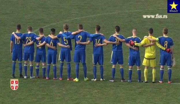 Srbija - BiH 3:3 (U-19) [Golovi] (9.3.2017)