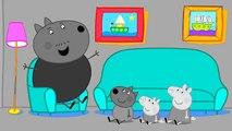 PEPPA PIG para Colorear las Páginas del Libro de Niños de Arte de la Diversión de las Actividades de Videos para el Aprendizaje de los Niños del arco iris