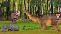Dinosaurs Cartoon Short Movie | Dinosaurs Fights And Battles | Animals Dinosaurs Movie For
