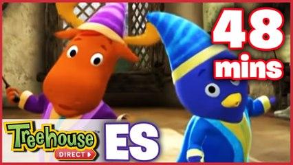 Los Backyardigans Dibujos Animados: 39-40 Episodios Para Niños - Compilación De 48 Mins