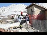 Castelluccio di Norcia (PG) - Terremoto, recupero beni dalle case (04.03.17)