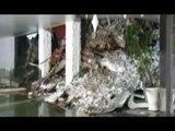 Farindola (PE) - Hotel Rigopiano travolto da valanga, le prime immagini all'interno (19.01.17)