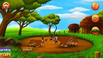 Learn Wild Animals Names and Sounds For Children - Educational Video for Kids Toddlers Pre