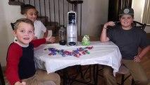 Warhead Candy Soda Challenge! Kid TRIES WEIRD SODAS (EXTREME NASTY)-w