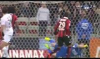 All Goals & Highlights HD - Nice 2-2 Caen - 10.03.2017