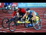 Men's 100m T51 | final | 2014 IPC Athletics European Championships Swansea