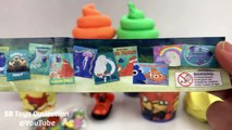 Play Doh Swirl Ice Cream Surprise Cups Paw Patrol Finding Dory Shopkins Surprise Eggs Monster MU To