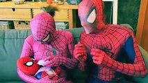 Замороженные атаки помада Эльза! ж/ Человек-Паук Джокер Анна Халк баб ребенок Малефисента Человек-паук с