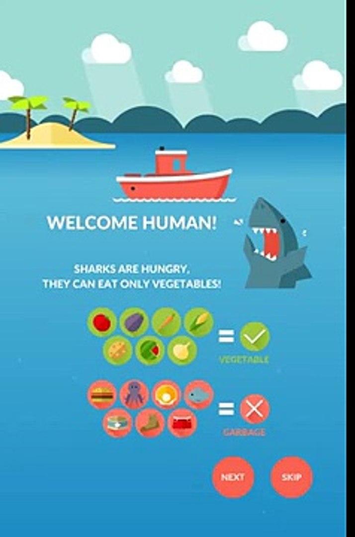 Овощи акулы андроид геймплей HD