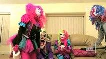 JOKER SQUAD! - Spiderman vs Joker w/ Joker Girl, Frozen Elsa, Mini Joker, Queen Of Jokes, Mad Joker