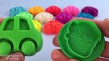 Aprender los Colores Plastilina Moldes Creativas y Divertidas para los Niños! Peppa Pig em Português Brasil 2017