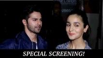 Badrinath Ki Dulhaniya | Special Screening | Varun Dhawan, Alia Bhatt