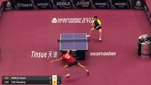 2017 Qatar Open Highlights: Fan Zhendong vs Alvaro Robles (R16)
