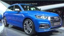 Audi Q2 et Q5: duo gagnant - Vidéo en direct du salon de Genève 2017