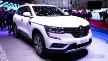 Renault Koleos : deuxième tentative - en direct du Salon de Genève 2017