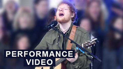 Ed Sheeran ROCKS First 2017 'Today' Concert | PERFORMANCE VIDEO