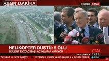 Bülent Eczacıbaşı'ndan helikopter kazası açıklaması