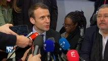"""Macron sur le parrainage de Juppé à Fillon: """"Un parrainage légitimiste et de parti"""""""