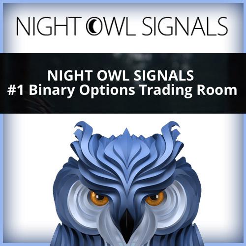 Night Owl Binary Options Signals Live Trading Room!