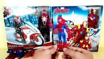 Iron man with hover pack | Spiderman with web copter | Iron Patriot with Arc Thruster Jet