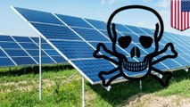 Solar panel production is causing rise of potent greenhouse gas