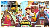 Subway Surfers   World Tour Bangkok   Jewel Outfit VS Siam Outfit.