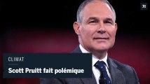 Scott Pruitt, patron de l'Agence de l'environnement américaine, doute de l'impact du CO2 sur l'environnement