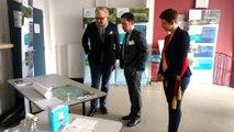 Le Prince Laurent en Visite au CAF pour la signature du contrat rivière Meuse Aval