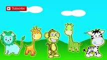 Los Animales Dedo De La Familia De Las Canciones De Cuna De La Colección | Niños Rimas Tv