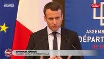 Présidentielle 360 : Les candidats devant les départements (10/03/2017)