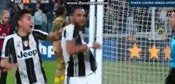 Medhi Benatia GOAL - Juventus 1-0 Milan - 10.03.2017