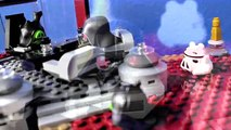 Angry Birds Star Wars Battle with Lego Star Wars Ships!