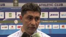Après HAC - Clermont (0-1), réaction d'Oswald Tanchot