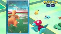 Super Rare PORYGON Caught w/ World Strongest Gym Taking Over - Pokemon Go