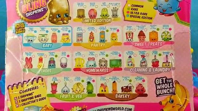 Season 1 Shopkins Googy Play-Doh Surprise Eggs with Season 2 Shopkins