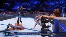 Becky Lynch and Natalya vs Alexa Bliss and Mickie James (Mickie James betrays Alexa Bliss)