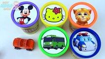 Автобус глина доч Привет Китти мало микки мышь играть штабелирования Говоря в том объем Игрушки сups tayo