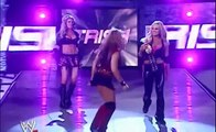 WWE RAW 2005 Candice Michelle, Torrie & Victoria vs Trish Stratus,Ashley & Mickie